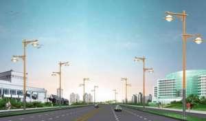天津打造生态城智慧路灯杆永安